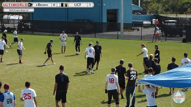 Brown vs. Central Florida | Men's Fin...