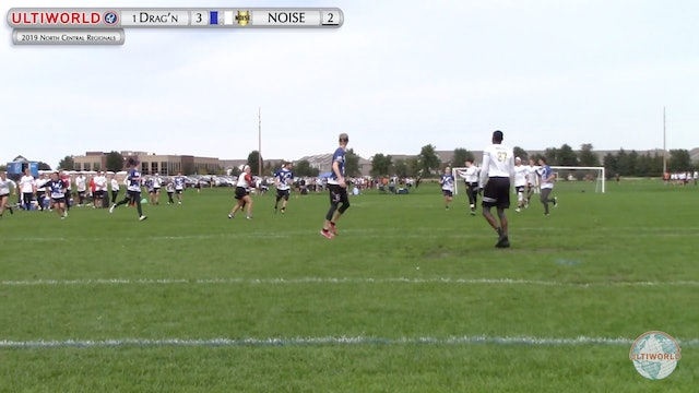#1 Drag'n Thrust vs #18 NOISE (X Final, 2019 North Central Regionals)