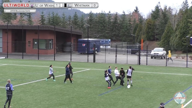 Washington vs. Whitman | Women's Round Robin | Bellingham Invite 2018