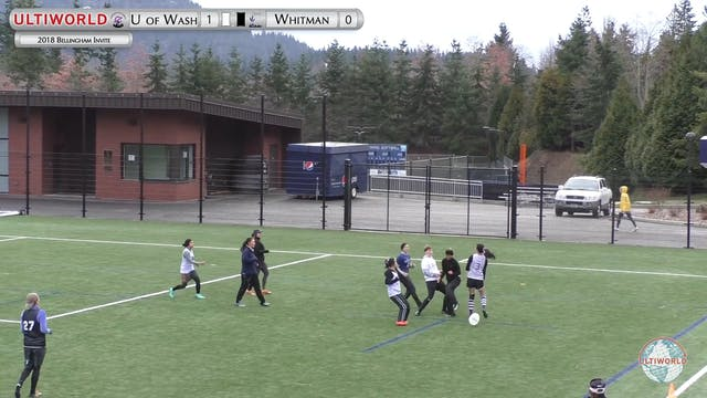 Washington vs. Whitman | Women's Roun...