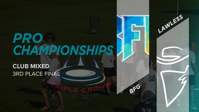 BFG vs. Lawless | Mixed 3rd Place Final