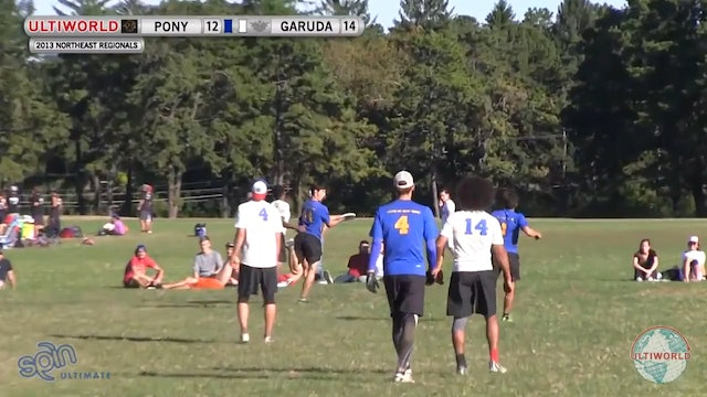 PoNY vs. Garuda | Men's 3rd Place Final | Northeast Regionals 2013
