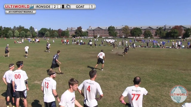Ironside vs. GOAT | Men's Final | Northeast Regionals 2014