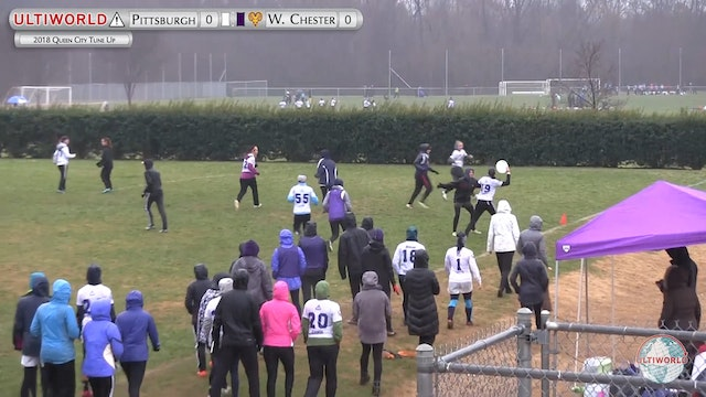 Queen City Tune Up 2018: Pittsburgh v West Chester (W Quarter)