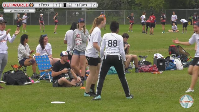 Women's Centex 2018: Texas v. Tufts (...