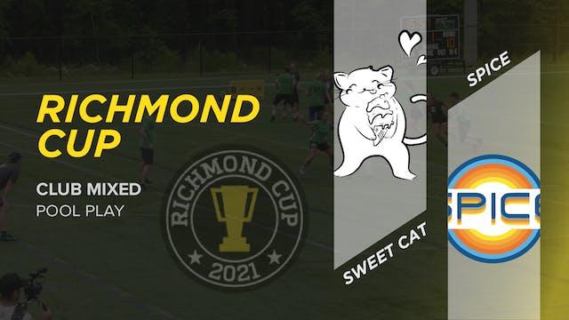 Sweet Cat vs Spice | Mixed Pool Play