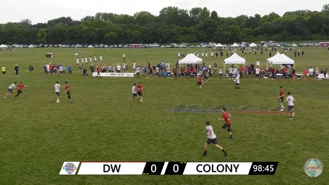 WUCC 2018: Doublewide v. Colony [Thru Rain Delay]