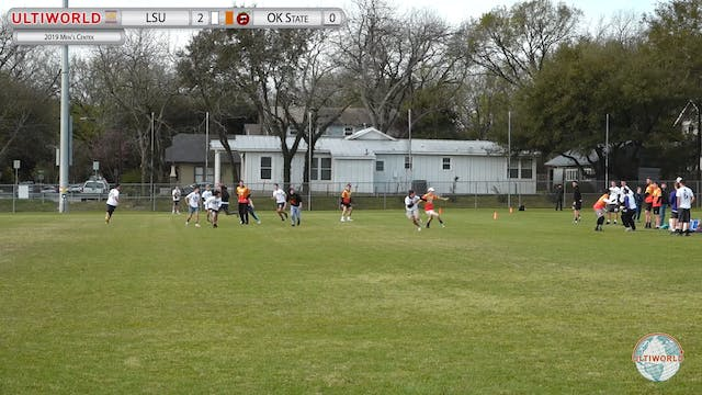 Men's Centex 2019: LSU vs Oklahoma State (M Quarter)