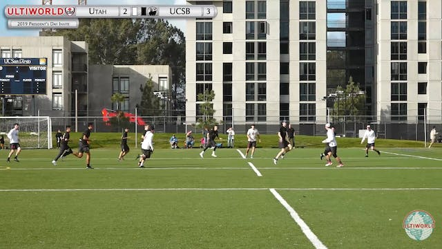 Utah vs. UCSB | Men's Pool Play | Pre...