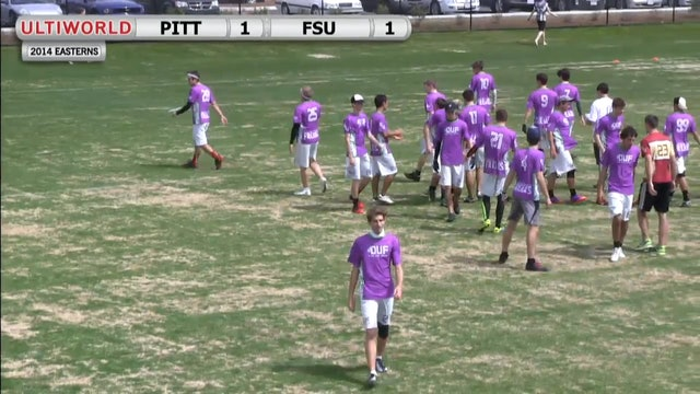 Florida State vs. Pittsburgh | Men's Pool Play | Easterns 2014