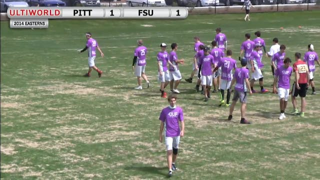 Easterns 2014: Florida State vs Pitts...