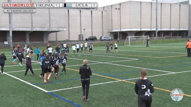 Virginia vs. UCLA | Women's 5th Place Final | Northwest Challenge 2017