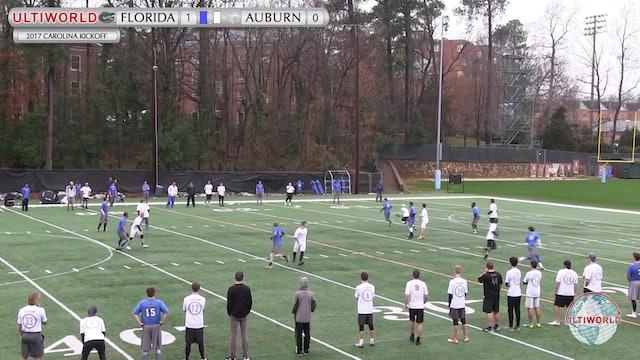 2017 Carolina Kickoff - Florida v. Auburn (M Quarter)
