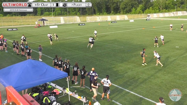 St Olaf vs. Puget Sound | Women's Pool Play | D-III College Championships 2019