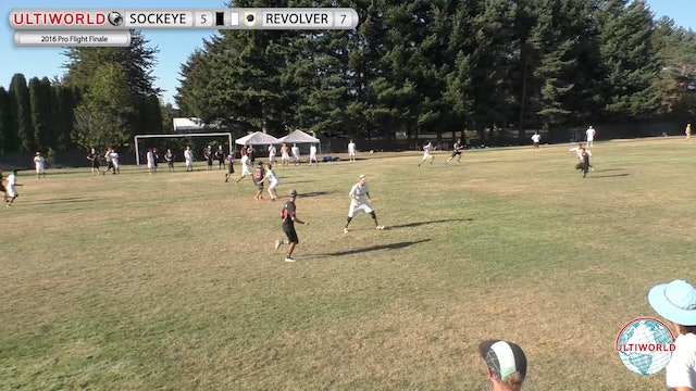 Revolver vs. Sockeye | Men's Pool Play | Pro Flight Finale 2016