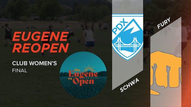 Schwa vs. Fury | Women's Final