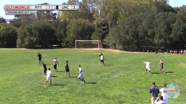 Stanford Invite 2013: Pittsburgh vs North Carolina (M)