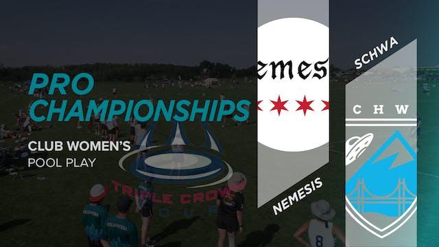 Schwa vs. Nemesis | Women's Pool Play