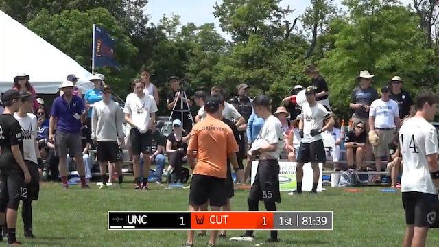 2017 D-I College Championships: North Carolina v. Carleton (M Pool Play)