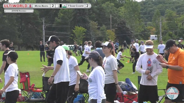 Snake Country vs. Metro North | Mixed Semifinal | Northeast Regionals 2018