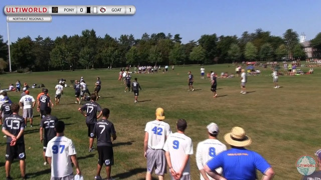 GOAT vs. PoNY | Men's 2nd Place Final | Northeast Regionals 2014