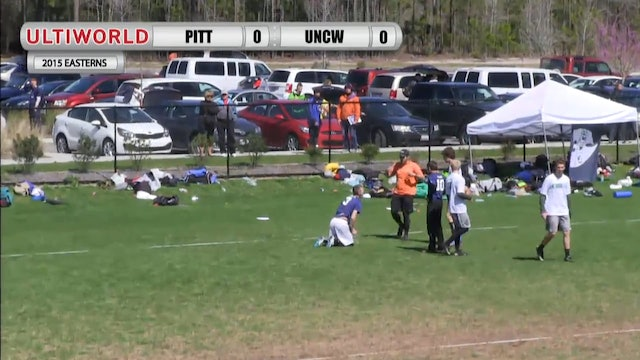 Easterns 2015: Pitt v. UNC Wilmington (M Final)