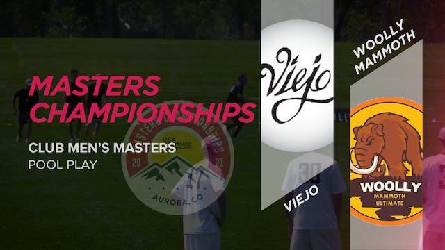 Viejo vs. Woolly Mammoth | Men's Masters Pool Play