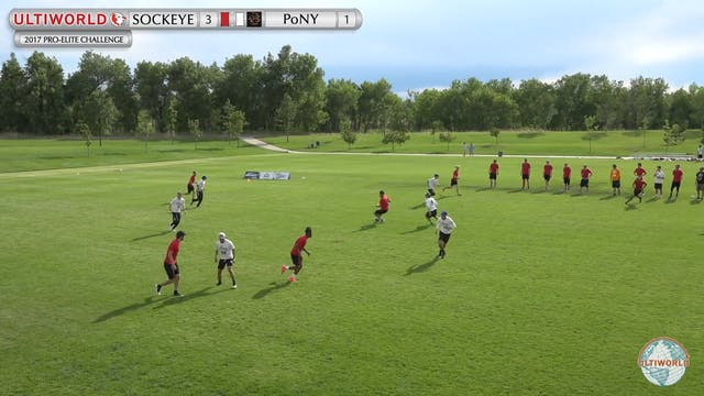 Sockeye vs. PoNY | Men's Prequarterfi...