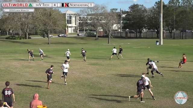 Florida Warm Up 2018: #14 Virginia Tech v Northeastern (M Pool)