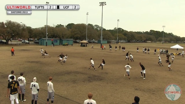 Tufts vs. Central Florida | Men's Pool Play | Easterns 2013
