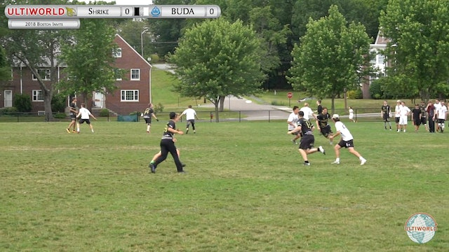 Boston Invite 2018: Shrike v BUDA YCC (M Pool)