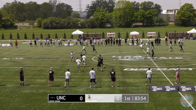 2018 D-I Nationals: Minnesota v UNC (M)