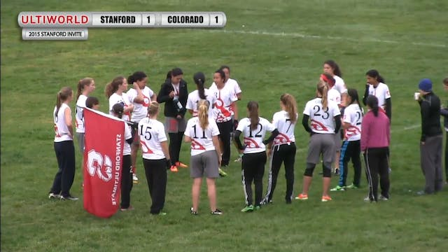 Stanford Invite 2015: Colorado v. Sta...