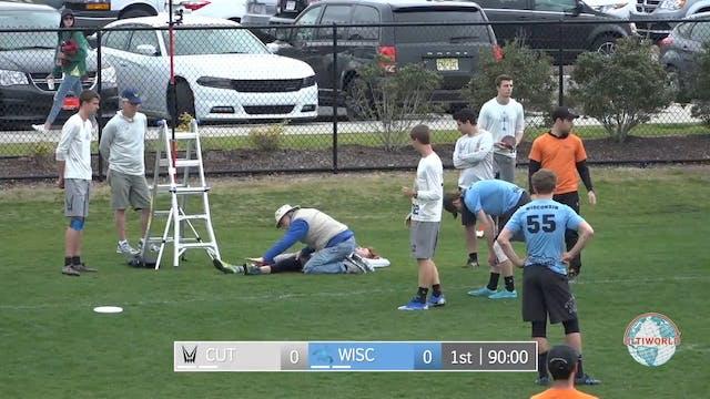 Carleton vs. Wisconsin   Men's Quarte...