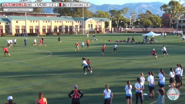 UCSD vs. Stanford | Women's Quarterfi...
