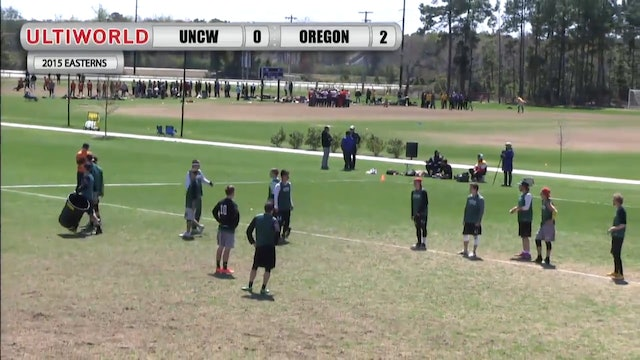 Easterns 2015: Oregon v. UNC Wilmington (M Semifinal)