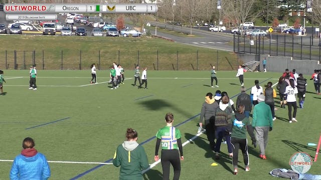 Bellingham Invite 2019: #7 Oregon vs #6 UBC (W)