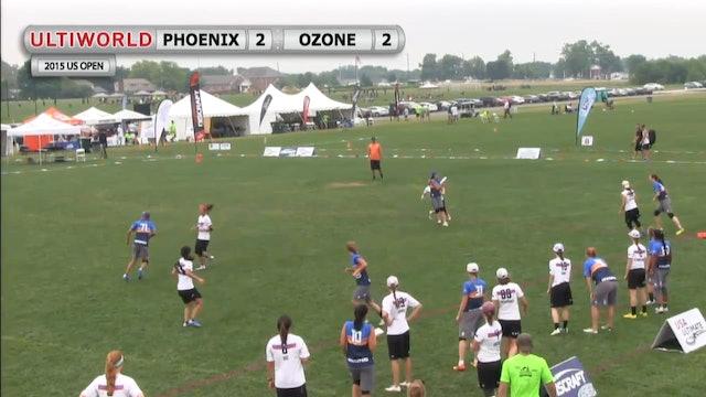 US Open 2015: Ozone v Phoenix (W)