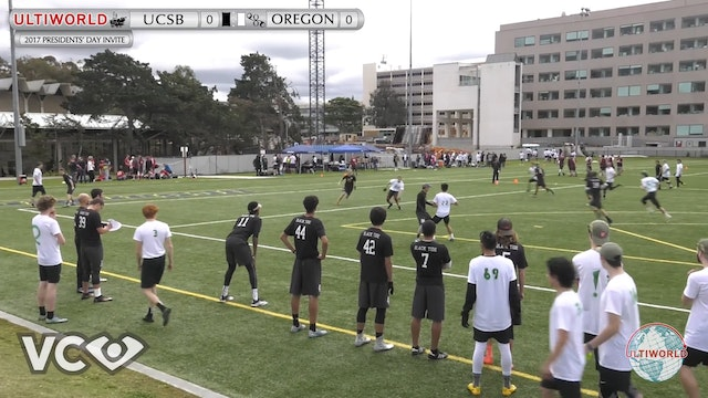 2017 Presidents' Day Invite - Oregon v. UCSB (M Pool) presented by VC Ultimate