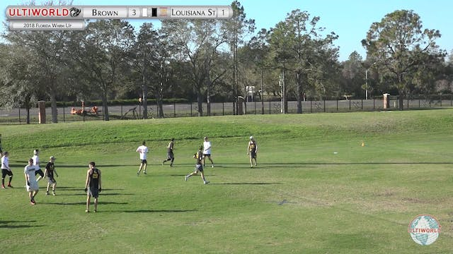 Florida Warm Up 2018: Brown v LSU (M ...