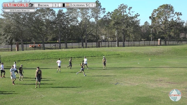Florida Warm Up 2018: Brown v LSU (M Pool)