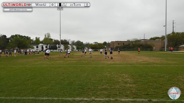 Women's Centex 2019: WashU vs #23 Tufts (W) (Pre-Quarter)
