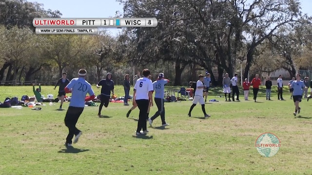 Pittsburgh vs. Wisconsin | Men's Semifinal | Florida Warm Up 2013