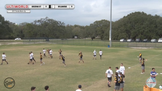 2017 Florida Warm Up: Arizona State v Villanova (Pool) presented by Spin Ultimate