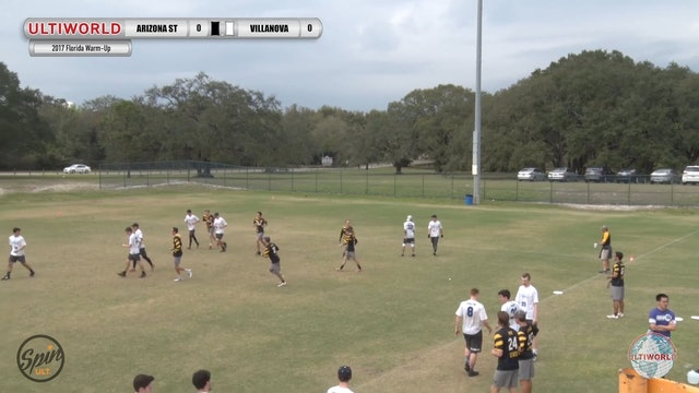 Arizona State vs. Villanova | Men's Match Play | Florida Warm Up 2017