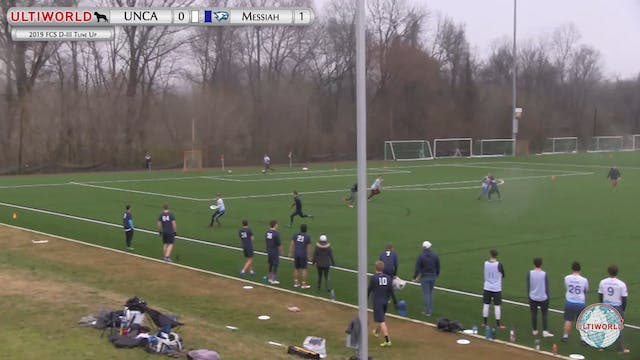 Messiah vs. UNC Asheville | Men's Mat...