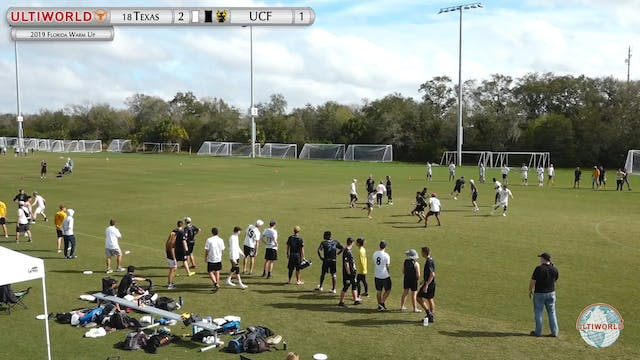 Florida Warm Up 2019: #18 Texas vs Central Florida (M Semi)