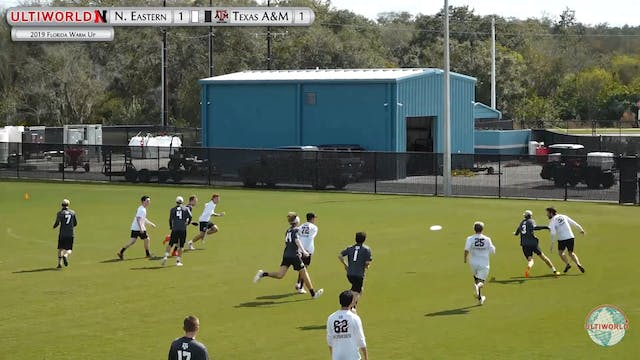 Florida Warm Up 2019: Northeastern vs Texas A&M (M)