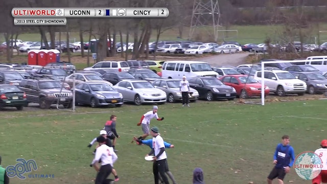 Steel City Showdown 2013: UConn v Cincinnati (M Semi)
