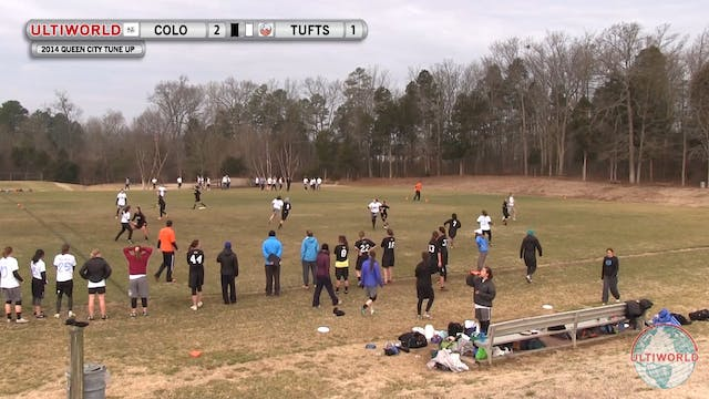 Colorado vs. Tufts | Women's Prequart...